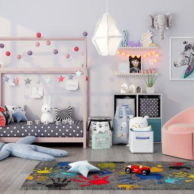 儿童房间3D模型