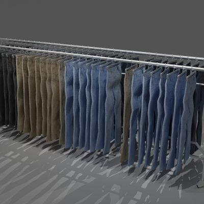 衣架,衣服,裤子