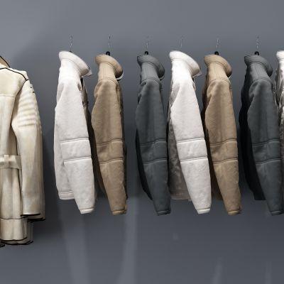 衣架,衣服