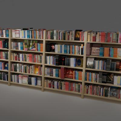 书柜,书架,书籍,书店