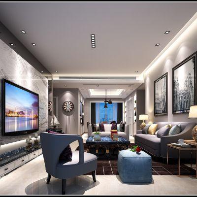现代风格客厅