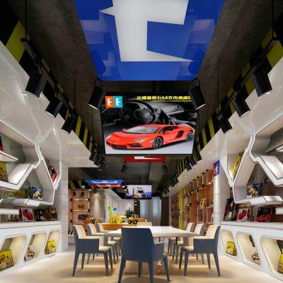 汽车模型展厅
