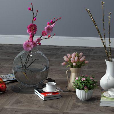 饰品摆件,书籍,花瓶,相框