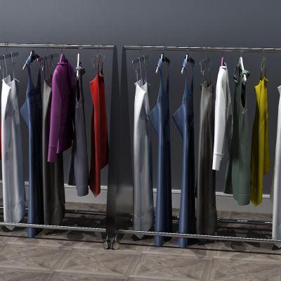 衣服,上衣,衣架,连衣裙,外套