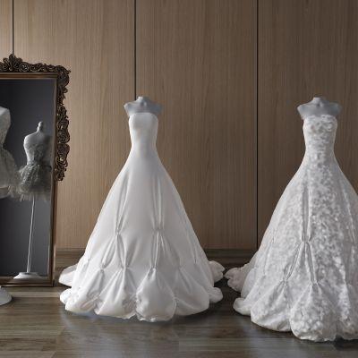 展示服装,衣服,裙子,吊带裙,婚纱