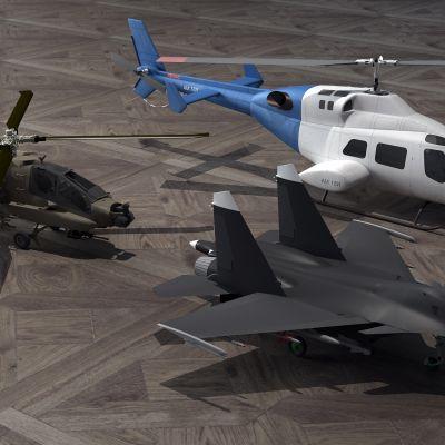 玩具飞机,直升机