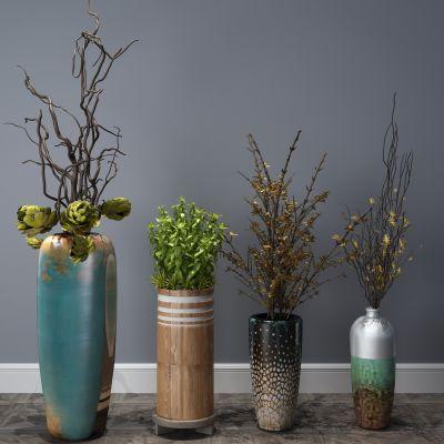 植物,盆栽,花瓶花卉