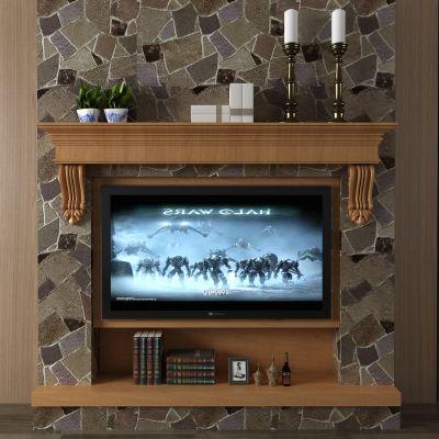 壁炉,火炉,电视墙