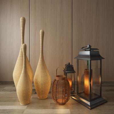 地灯,装饰灯,蜡烛