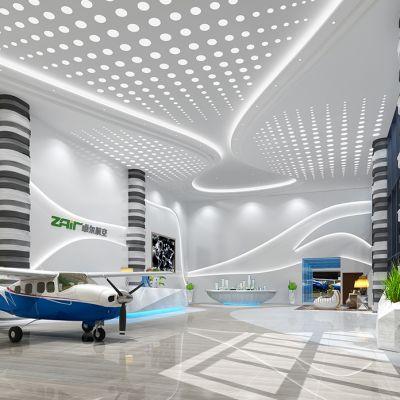 航空飞机展厅