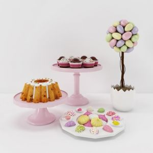 现代甜点食品陈设品组合