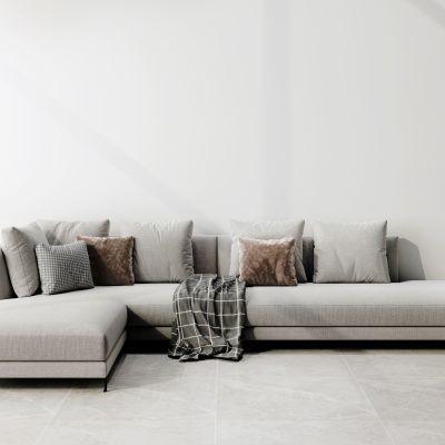 现代简约多人转角沙发