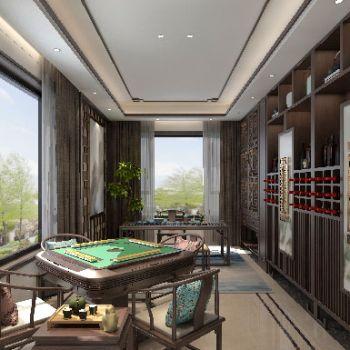 新中式休闲区