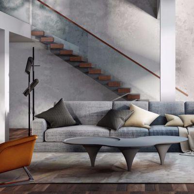 现代沙发茶几组合模型合集3D模型