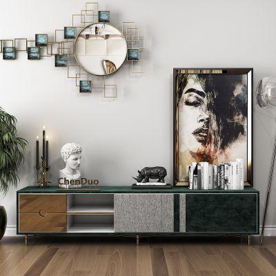 后现代电视柜装饰画摆件组合3D模型
