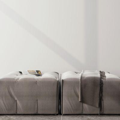 现代单人沙发凳