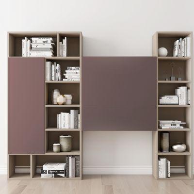 现代书柜摆件书籍组合