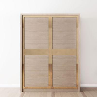 新中式趟门衣柜