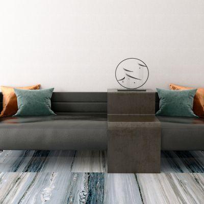 新中式多人沙发