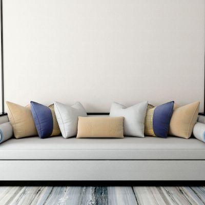 新中式多人沙发3D模型