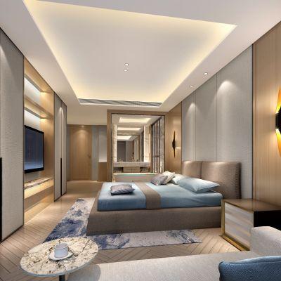 中式套房3D模型