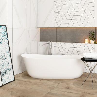 现代简约浴室浴缸组合