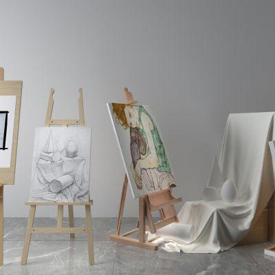 画板,素描