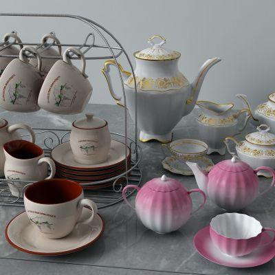 杯子,茶壶