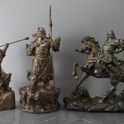 关羽,关公,青铜雕像