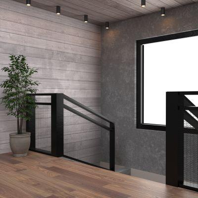 现代楼梯口