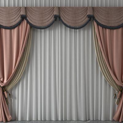 窗帘,纱帘,双层帘