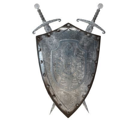 装饰品挂件盾牌
