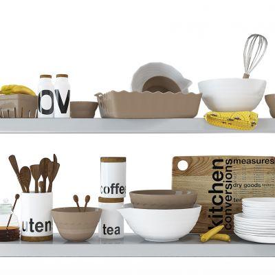 厨房用品盘子组合