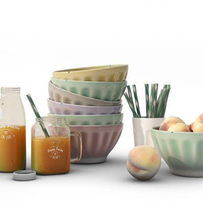 厨房用品果汁碗