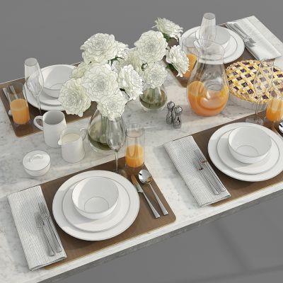 餐桌摆件餐具