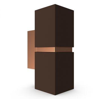 现代棕色壁灯