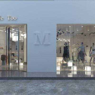 现代女士服装店