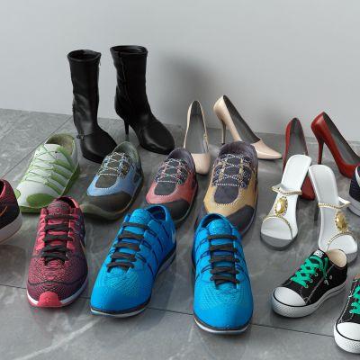 鞋子,球鞋,运动鞋,高跟鞋