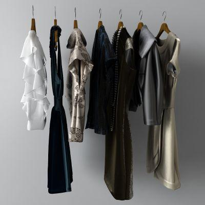 衣服,裙子,T恤