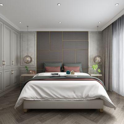 简美卧室3D模型