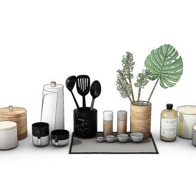 厨房用品组合餐具碗筷