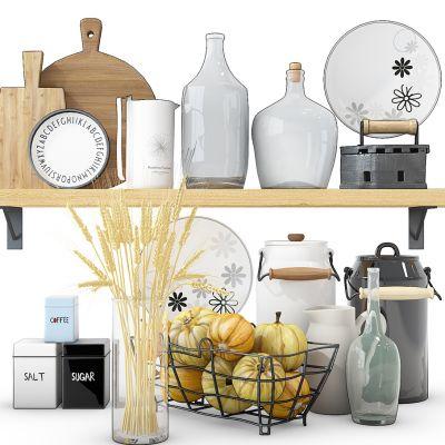 厨房用品组合