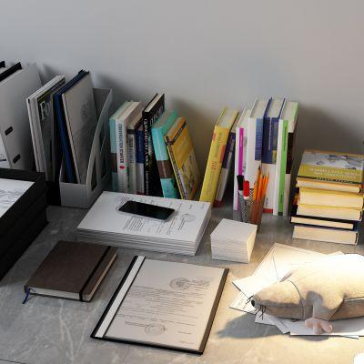 文件夹,书籍,纸