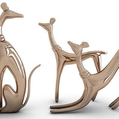 狗造型雕塑摆件