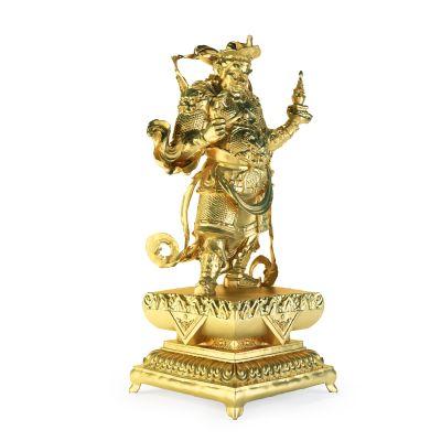 门神佛像雕塑