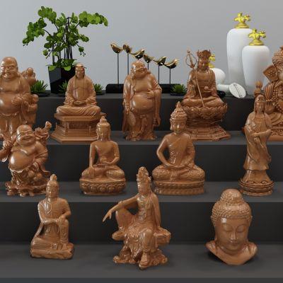 佛像雕塑合集