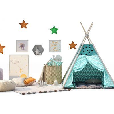 儿童房帐篷玩具
