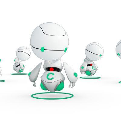 现代超萌机器人组合
