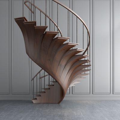 现代旋转楼梯