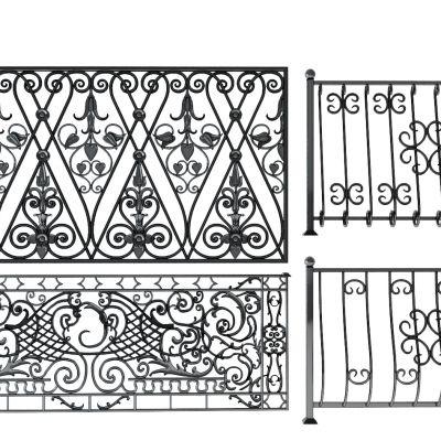 铁艺雕花护栏